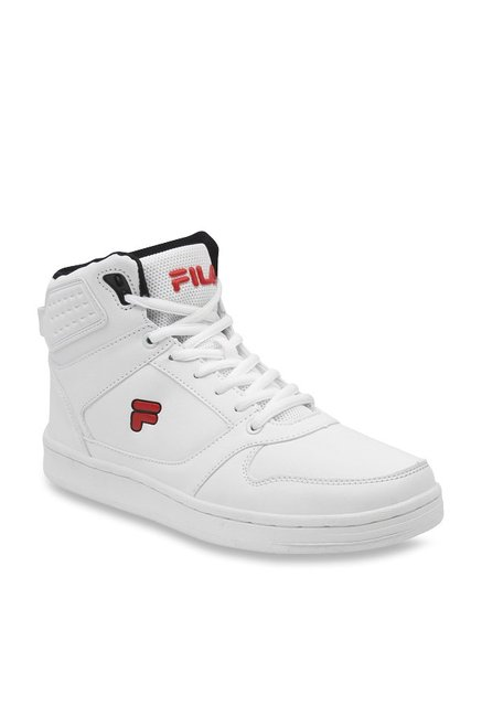28ec30a5dc Buy Fila Flavio White Ankle High Sneakers for Men at Best Price ...