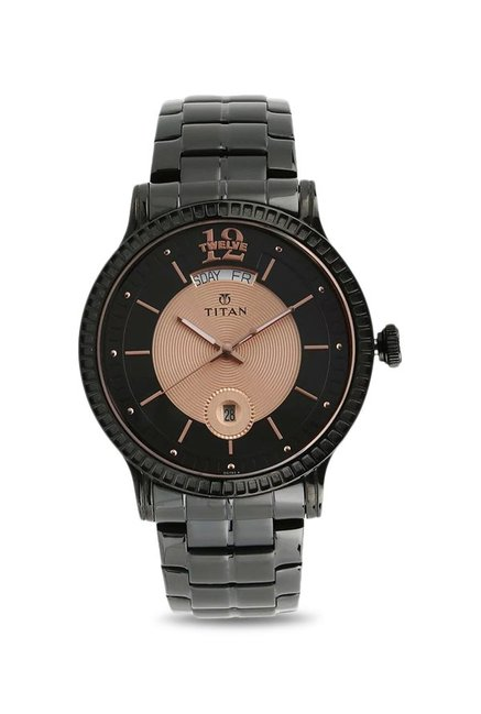 8b2146639 Titan Regalia 1751NM01 Watch Online Buy at lowest Price in India (Sovereign  Analog Black Dial Men's Watch) Offers & Coupons | CKS-312-006115