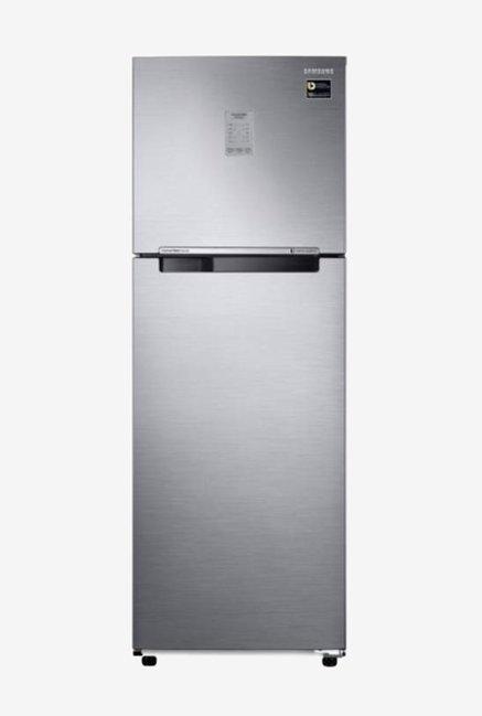 Samsung RT30N3723S8 275L Inverter 3 Star Frost Free Double Door Refrigerator  Elegant Inox