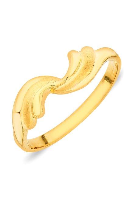 e4196875f Buy P.N.Gadgil Jewellers Hana Nature 22 kt Gold Ring Online At Best Price @  Tata CLiQ