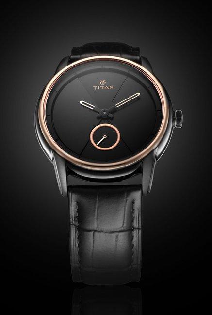 315299608 Buy Titan 90037KL01 Xerxes Desai Analog Unisex Watch at Best Price   Tata  CLiQ
