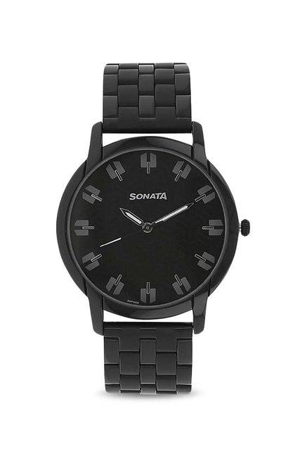 Sonata NK77031NM01 Analog Watch for Men