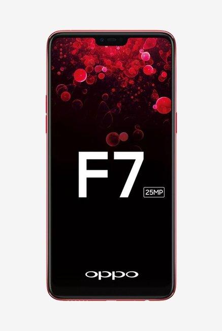 OPPO F7 (Red, 128 GB)