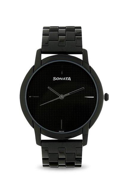 Sonata NK77031NM02 Analog Watch for Men