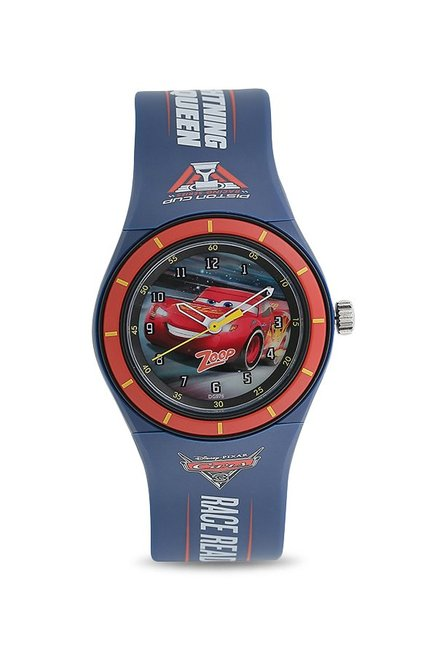 Zoop NKC4048PP14 Cars Analog Watch for Kids