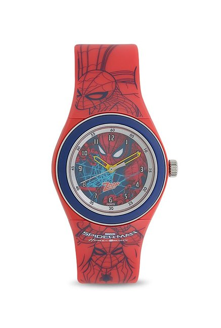 Zoop NKC4048PP15 Spiderman Homecoming Analog Watch for Kids