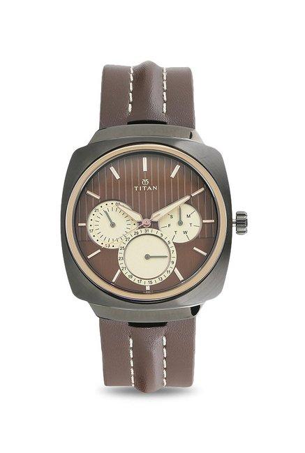 Titan 1754KL01 Purple Analog Watch for Men