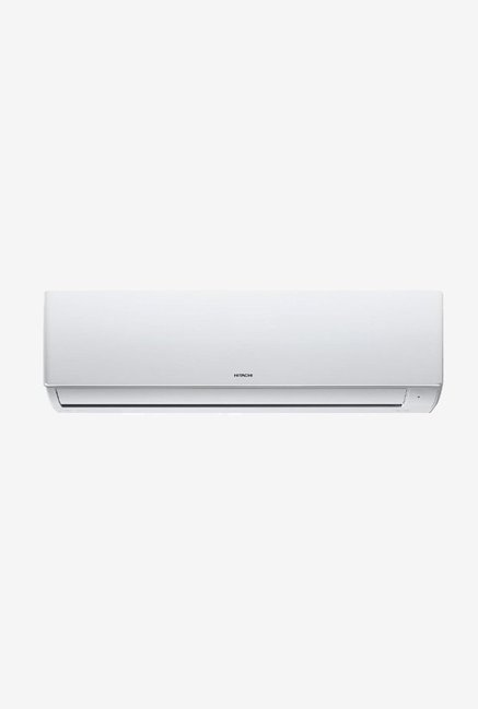 Hitachi 1.0 Ton Inverter 5 Star Copper  BEE Rating 2018  ACE RSG512HBEA Split AC  White
