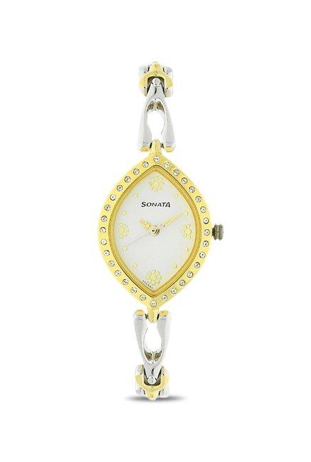 Sonata NK8149BM01 Wedding Analog Watch for Women