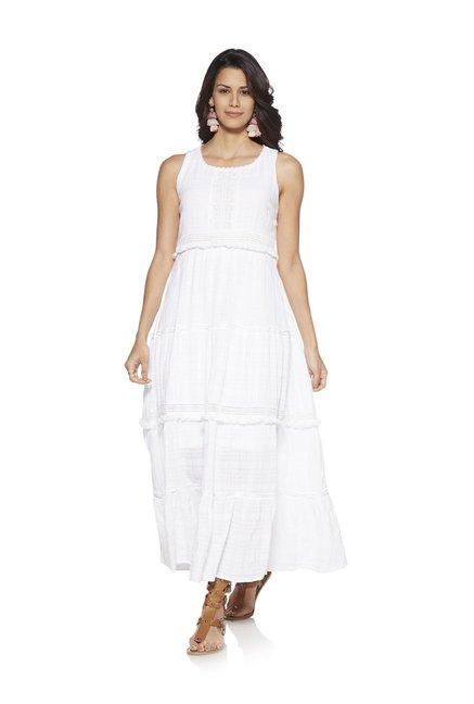 416179e202 Buy LOV by Westside White Misha Maxi Dress for Women Online   Tata CLiQ
