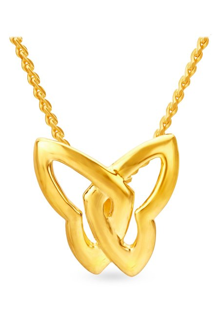 Tanishq Butterfly 22KT Gold Pendant