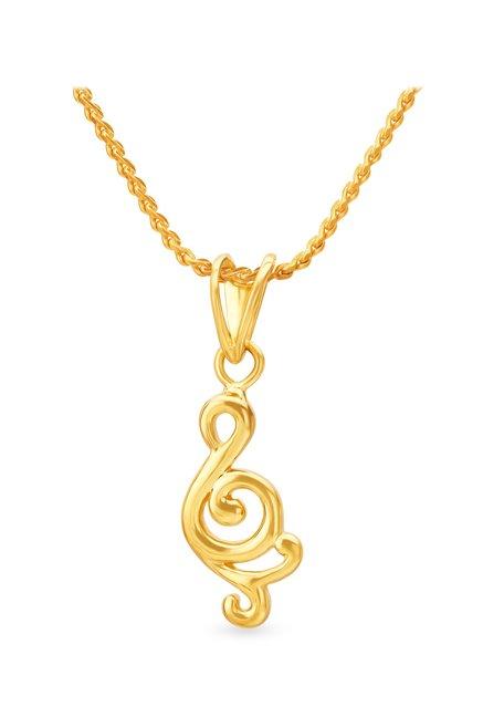Tanishq 22KT Gold Pendant