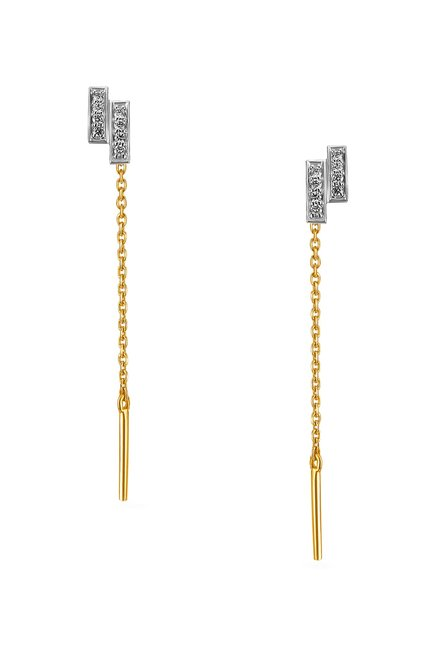 be76a20e0 Buy Tanishq 18k Gold & Diamond Earrings Online At Best Price @ Tata CLiQ