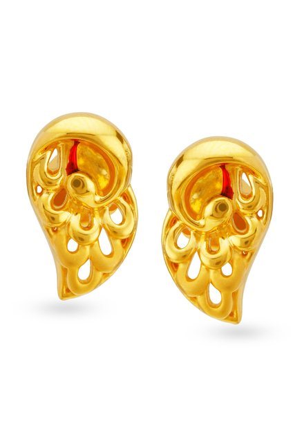Tanishq Pea 22k Gold Earrings Online At Best Price