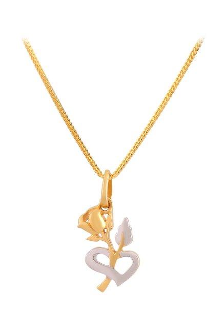Buy tanishq 22k gold pendant online at best price tata cliq tanishq 22k gold pendant aloadofball Gallery