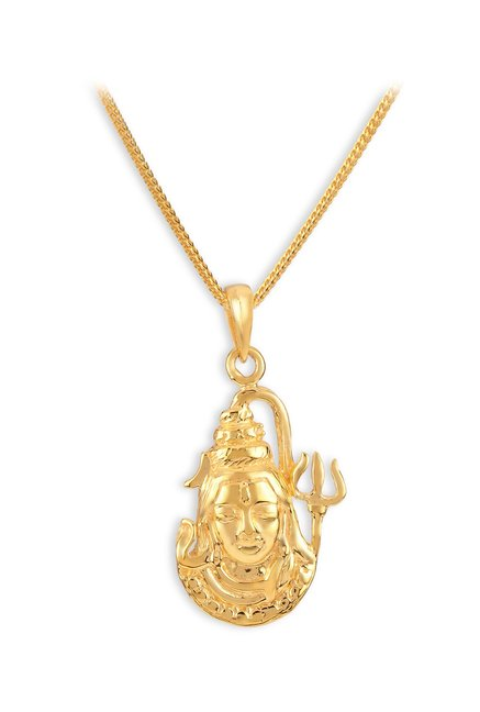 Buy Tanishq Shiva 22k Gold Pendant Online At Best Price @ Tata CLiQ