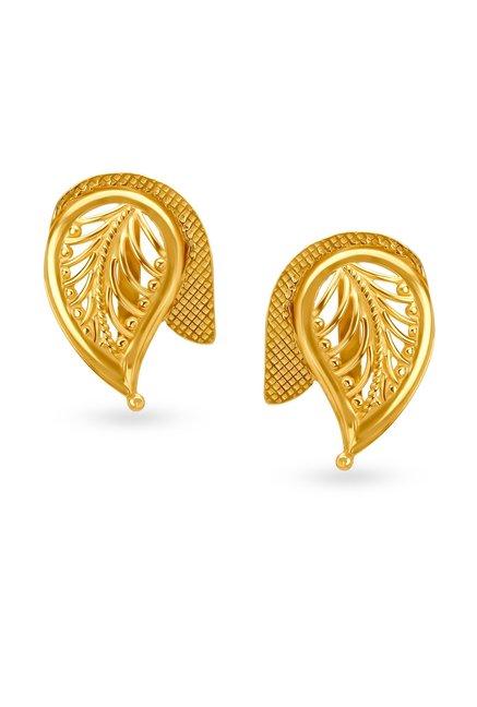 057014cc7 Buy Tanishq 22k Gold Earrings Online At Best Price @ Tata CLiQ