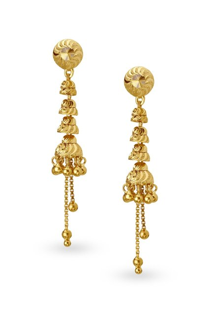 Tanishq 22k Gold Earrings Online At Best Price Tata Cliq