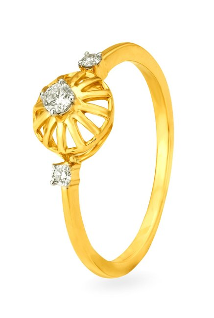 rings at diamond online best tata tanishq p cliq engagement ring buy price gold
