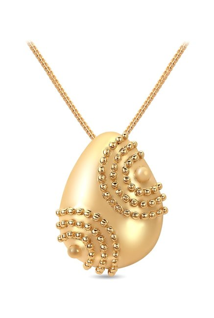 Buy mia by tanishq teardrop 14 kt gold pendant online at best price mia by tanishq teardrop 14 kt gold pendant aloadofball Choice Image