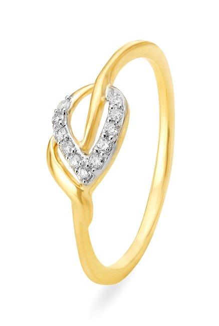 Tanishq 18kt Gold   Diamond Ring