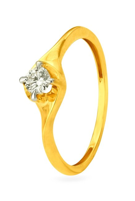 Tanishq 18kt Gold   Diamond Ring