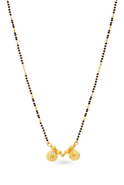 Buy Tanishq Swarnam 22 kt Gold Mangalsutra Online At Best Price @ Tata CLiQ