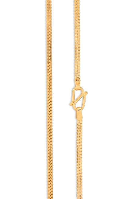 Tanishq 22 KT Gold Chain for Women ID 511038CUJGAA00 Buy ... |Tanishq Gold Chain For Men With Price