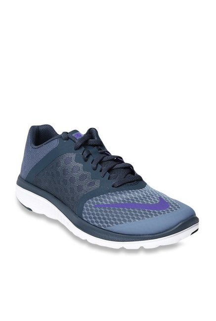 best loved bfd35 839c4 Buy Nike FS Lite Run 3 Bluish Grey Running Shoes for Women at Best Price    Tata CLiQ