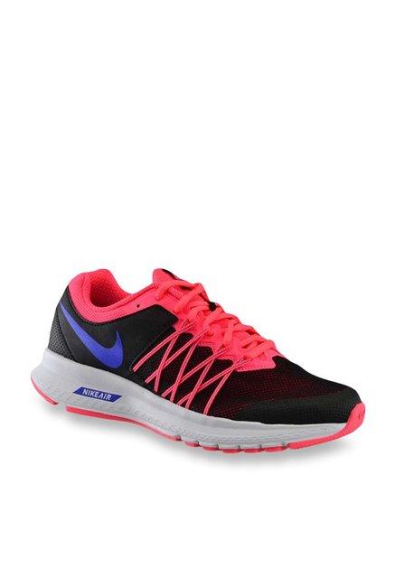 Nike Air Relentless 6 MSL Black & Pink Running Shoes