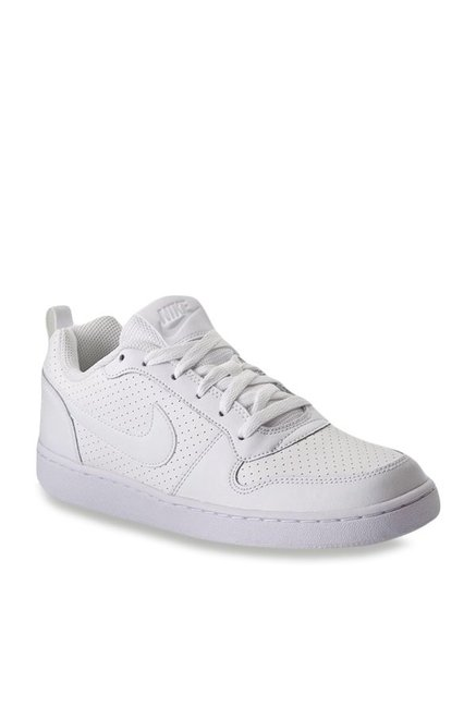 58c113cef0d4c Buy Nike Court Borough Low White Sneakers for Men at Best Price @ Tata CLiQ