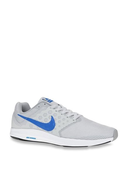 6a225d7051b Buy Nike Downshifter 7 Light Grey Running Shoes for Men at Best ...