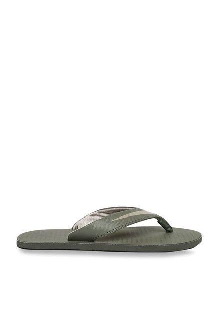 4eb86263a48f Buy Nike Chroma 5 Olive Flip Flops for Men at Best Price   Tata CLiQ