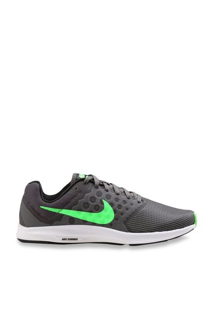 7f735c4ed7e Buy Nike Downshifter 7 Dark Grey Running Shoes for Men at Best ...