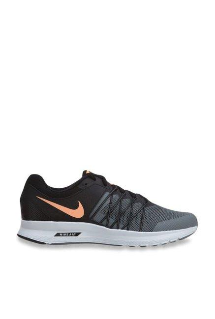 089520671683d Buy Nike Air Relentless 6 MSL Grey   Black Running Shoes for ...