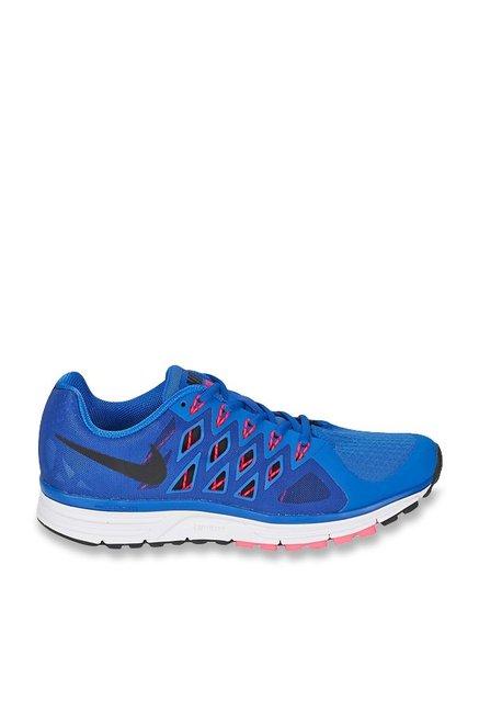 952e9e9cddd Buy Nike Zoom Vomero 9 Blue   Black Running Shoes for Men at Best Price    Tata CLiQ