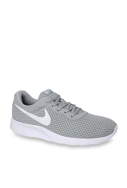 Nike Tanjun Light Grey Running Shoes