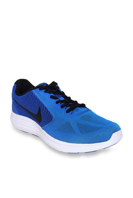 mieux aimé a55c7 2c3ab Buy Nike Revolution 3 Blue Running Shoes for Men at Best ...