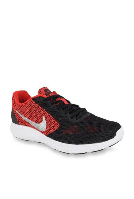 Buy Nike Revolution 3 Black \u0026 Red
