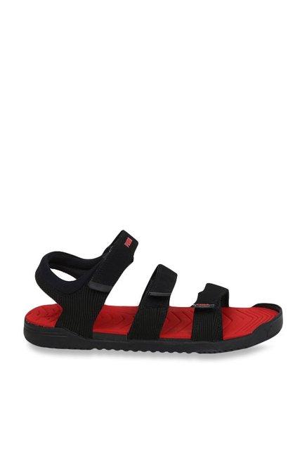 2057947020f0 Buy Puma Lime NU IDP Black   Flame Scarlet Floater Sandals for ...