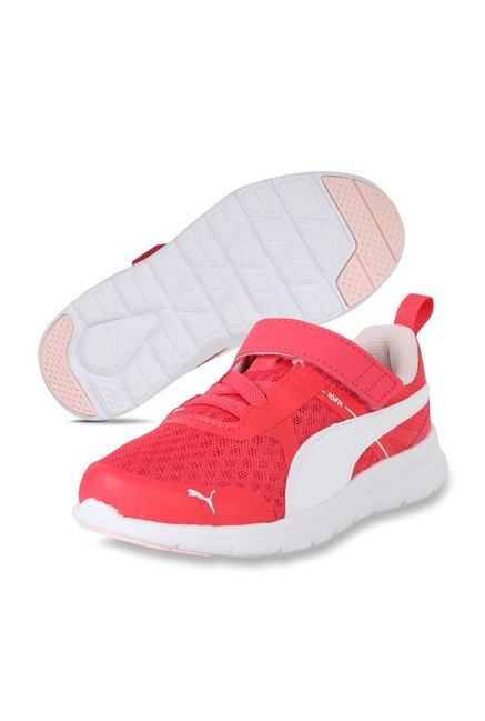 Buy Puma Flex Essential V PS Paradise Pink & White Running