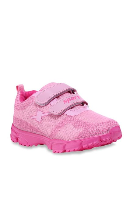 Buy Sparx Kids Pink Velcro Shoes for