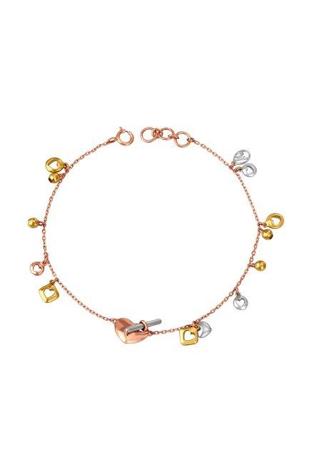 nouveau concept b17ea 17e6a Buy Mia by Tanishq 14 kt Gold Bracelet Online At Best Price ...