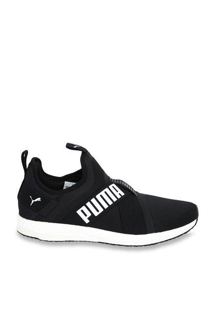 b4f96dd59f0bc3 Buy Puma Mega NRGY X Black Running Shoes for Men at Best Price   Tata CLiQ