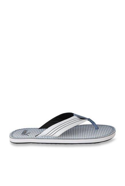 a09af885b24 Buy Puma Ketava Graphic IDP Sargasso Sea   White Flip Flops for Men ...