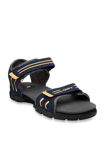 Buy Sparx Kids Navy Floater Sandals for