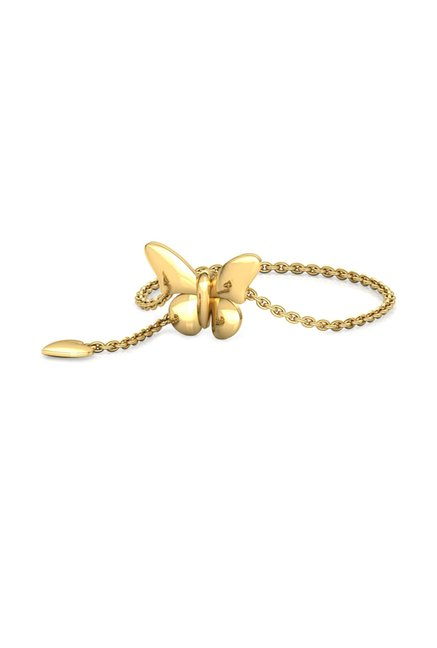 CaratLane Butterfly 14kt Gold Ring