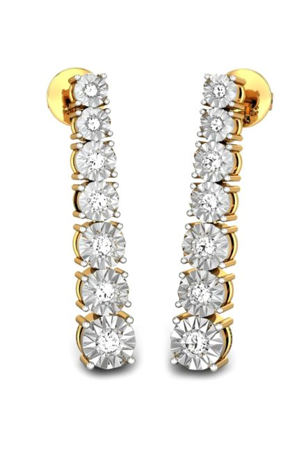 Buy Candere by Kalyan Jewellers 18k Gold & 0 25 ct Diamond
