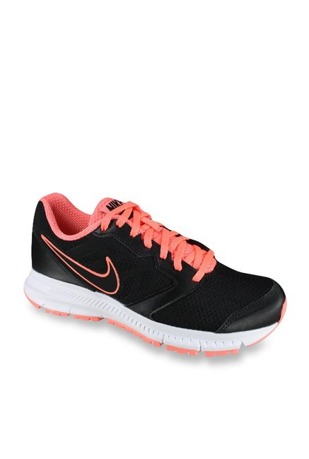 33afc6f6917 Buy Nike Downshifter 6 MSL Black   Peach Running Shoes for Women at Best  Price   Tata CLiQ