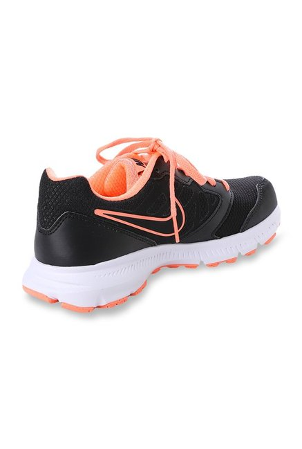 5a1b70b56fb03 Buy Nike Downshifter 6 MSL Black   Peach Running Shoes for Women at ...